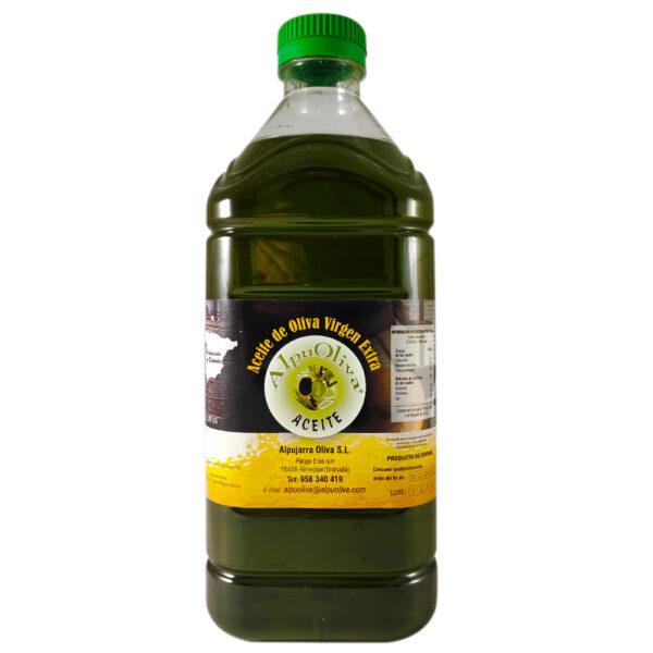 Aceite de oliva virgen extra 2 litros Pet Alpuoliva